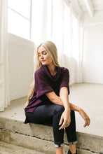 Load image into Gallery viewer, Collette Cropped Sleeve Cowl Neck - ALL SALES FINAL