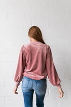 Load image into Gallery viewer, Cozy Corduroy Blouse - ALL SALES FINAL