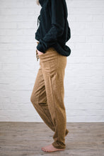 Load image into Gallery viewer, Cozy Joggers with Side Pockets in Camel