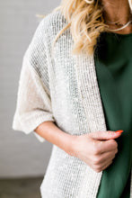 Load image into Gallery viewer, Cream Loose Knit Cardigan