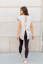 Load image into Gallery viewer, Don't Sweat It Workout Top In Faded Lilac - ALL SALES FINAL