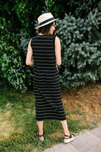 Load image into Gallery viewer, Double Dipped Striped Dress