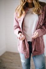 Load image into Gallery viewer, Easy Breezy Jacket in Mauve