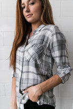 Load image into Gallery viewer, Easygoing Plaid Buttondown - ALL SALES FINAL