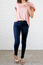 Load image into Gallery viewer, Everyday Colored Jeggings in Navy