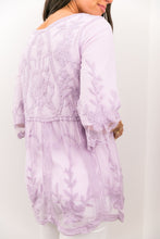 Load image into Gallery viewer, Flirty Lace Blouse In Lavender