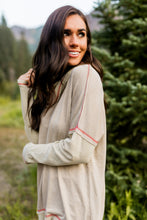 Load image into Gallery viewer, Free Spirit Cowl Neck Top In Camel
