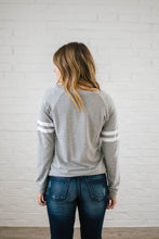 Load image into Gallery viewer, Game Day Long Sleeve Tee in Gray