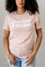 Load image into Gallery viewer, Good Times Graphic Tee - ALL SALES FINAL