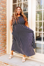 Load image into Gallery viewer, Have It Both Ways Striped Dress