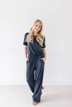 Load image into Gallery viewer, Life Is Good Jumpsuit In Slate