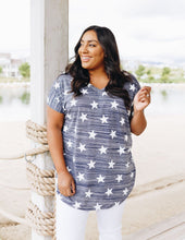 Load image into Gallery viewer, Lucky Stars V-Neck Tee