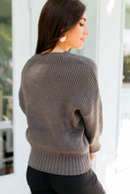 Load image into Gallery viewer, Luna Sweater in Gray
