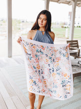 Load image into Gallery viewer, Lush Blush Tropical Scarf