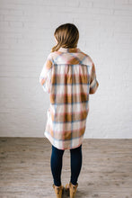 Load image into Gallery viewer, Mad About Plaid Tunic in Camel