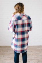 Load image into Gallery viewer, Mad About Plaid Tunic in Navy