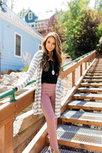 Load image into Gallery viewer, Marvelous Moto Jeggings In Mauve