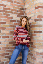 Load image into Gallery viewer, Mauve And More Fine Knit Sweater