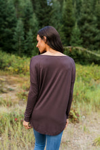 Load image into Gallery viewer, Moonlit Nights Wrap Top In Cocoa