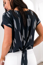 Load image into Gallery viewer, New Haven Tie-Back Blouse