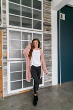 Load image into Gallery viewer, Nostalgic Knit Cardigan In Blush