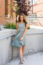 Load image into Gallery viewer, Olive Tank Midi Dress