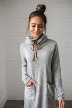 Load image into Gallery viewer, Penny For Your Thoughts Sweater Dress - ALL SALES FINAL