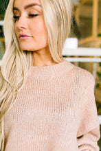 Load image into Gallery viewer, Pink Primrose Bell Sleeve Sweater - ALL SALES FINAL
