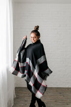 Load image into Gallery viewer, Playful Plaid Poncho
