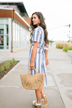 Load image into Gallery viewer, Sailing Away Striped Dress