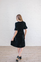 Load image into Gallery viewer, Starry Night Velvet Dress