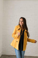 Load image into Gallery viewer, Sunshine Yellow Peacoat - ALL SALES FINAL