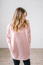 Load image into Gallery viewer, The Brighton Cowl Neck Tunic in Mauve