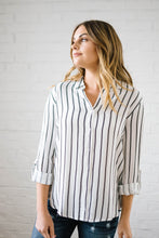 Load image into Gallery viewer, The Dakota Striped Work Shirt