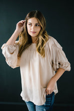 Load image into Gallery viewer, The Middleton Blouse in Cream