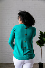Load image into Gallery viewer, Top 'O The Mornin' Sweater In Emerald - ALL SALES FINAL