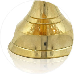 high quality brass metal base - Crinds Candle Lamp