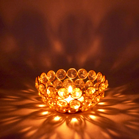 Crinds Bowl Tea-Light Candle Lamp - Small