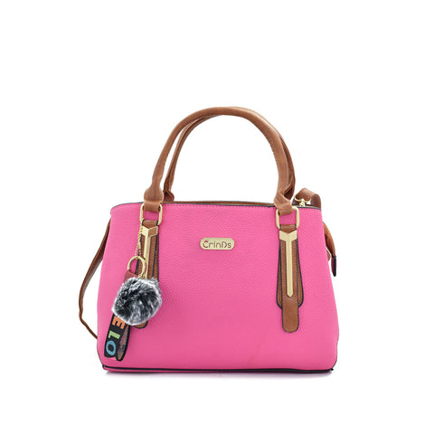 Royal Pink Designer Handbag