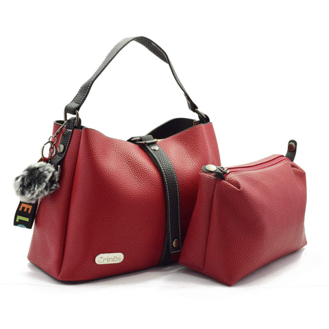 Crinds designer 2in1 Red satchel Hobo Men Women Ladies Girls Handbags