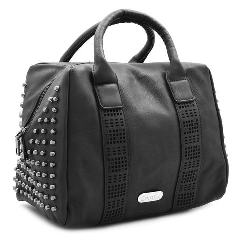 Crinds designer Big Black Square Duffle Bag Men Women Ladies Girls Handbags