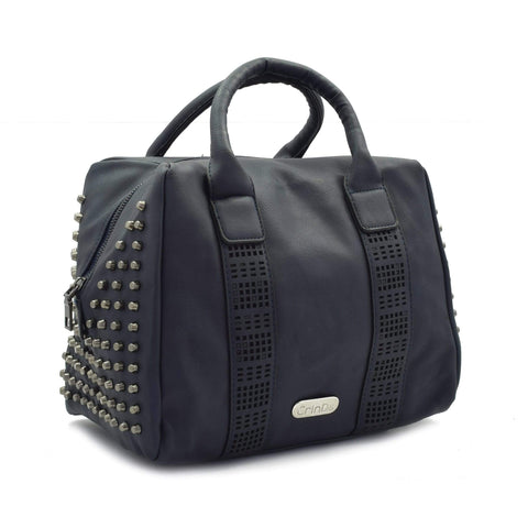 Crinds designer Big Blue Square Duffle Bag Men Women Ladies Girls Handbags