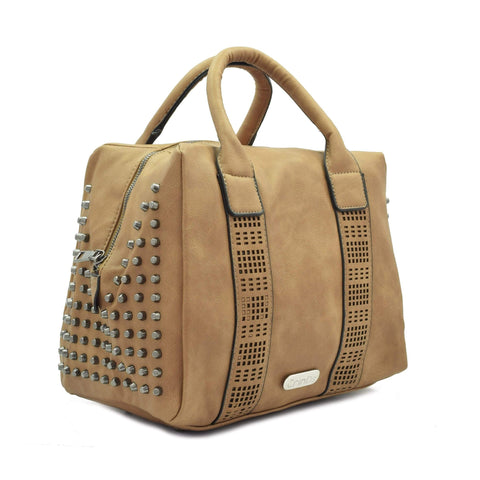 Crinds designer Big Sandy Brown Square Duffle Bag Men Women Ladies Girls Handbags