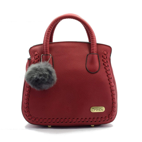 Crinds designer Braid Red Bucket Handbag Men Women Ladies Girls Handbags