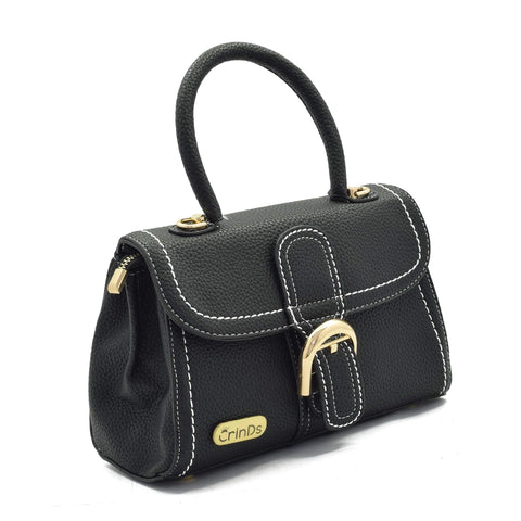 Crinds designer Buckle design black bag Men Women Ladies Girls Handbags