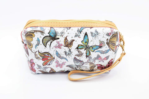 Crinds designer Butterfly & Hearts Multi-purpose Pouch Men Women Ladies Girls Pouch