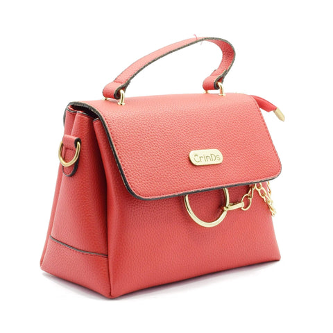 Crinds designer Chain Ring Red Shoulder Bag Men Women Ladies Girls Handbags