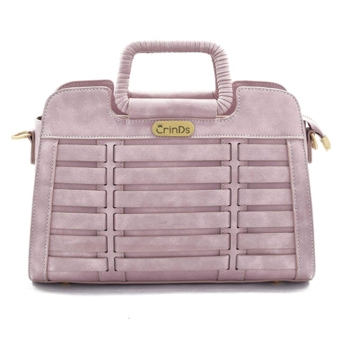 Crinds designer Chic Luxury Purple Handbag Men Women Ladies Girls Handbags