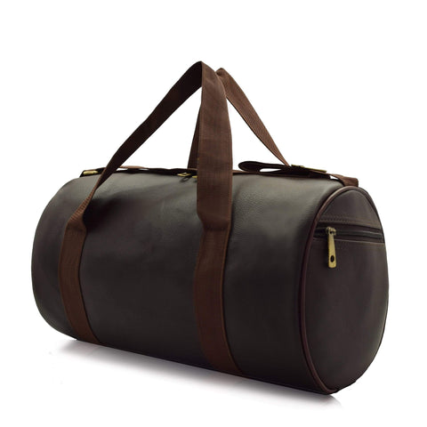 Crinds designer Compact Size Matte Brown Duffel Bag Men Women Ladies Girls duffel bag
