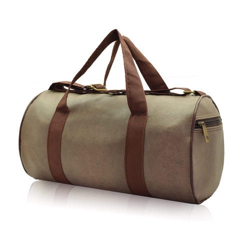 Crinds designer Compact Size Powder Brown Duffel Bag Men Women Ladies Girls duffel bag